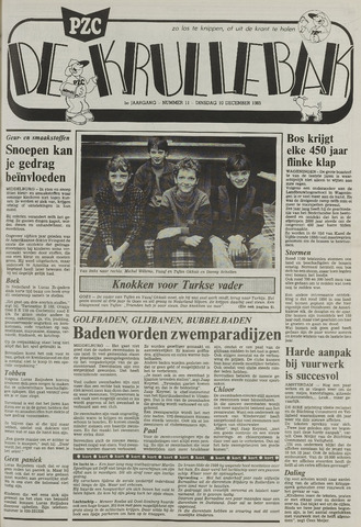Provinciale Zeeuwse Courant katern Krullenbak (1981-1999) 1985-12-10
