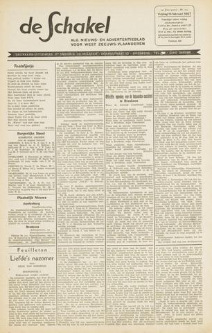 De Schakel 1957-02-15