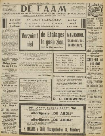de Faam en de Faam/de Vlissinger 1924-04-30