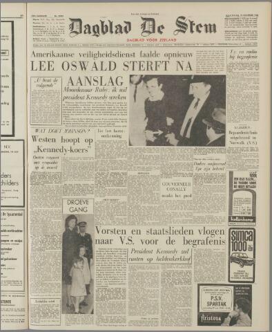 de Stem 1963-11-25