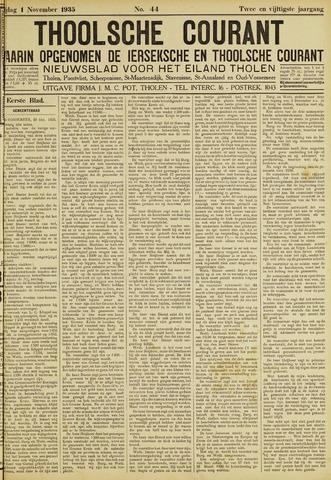 Ierseksche en Thoolsche Courant 1935-11-01