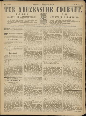 Ter Neuzensche Courant. Algemeen Nieuws- en Advertentieblad voor Zeeuwsch-Vlaanderen / Neuzensche Courant ... (idem) / (Algemeen) nieuws en advertentieblad voor Zeeuwsch-Vlaanderen 1901-12-24