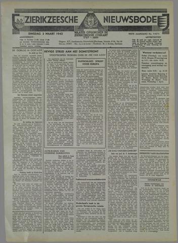Zierikzeesche Nieuwsbode 1942-03-03