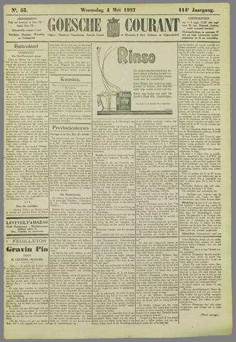 Goessche Courant 1927-05-04