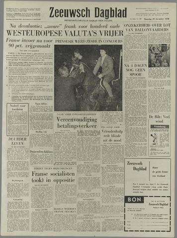 Zeeuwsch Dagblad 1958-12-29