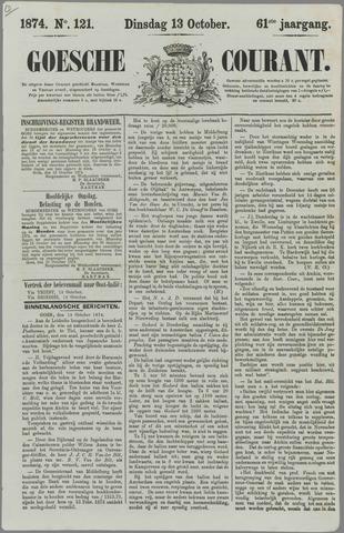 Goessche Courant 1874-10-13
