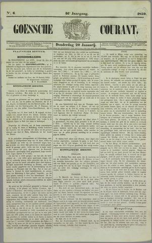 Goessche Courant 1859-01-20