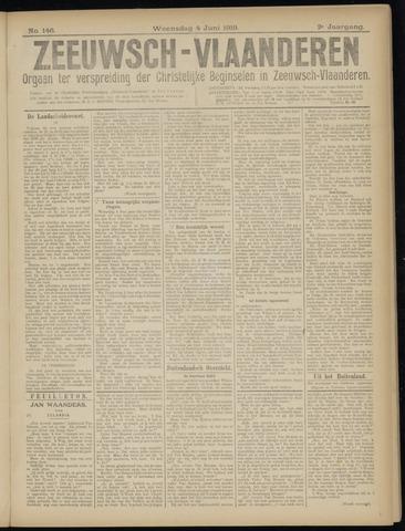 Luctor et Emergo. Antirevolutionair nieuws- en advertentieblad voor Zeeland / Zeeuwsch-Vlaanderen. Orgaan ter verspreiding van de christelijke beginselen in Zeeuwsch-Vlaanderen 1919-06-04
