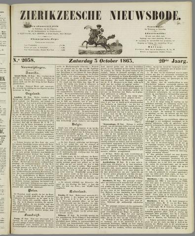 Zierikzeesche Nieuwsbode 1863-10-03