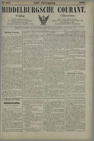 Middelburgsche Courant 1883-12-07