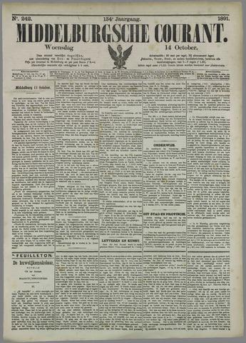 Middelburgsche Courant 1891-10-14