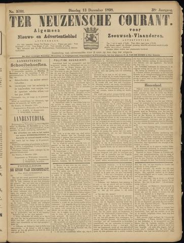 Ter Neuzensche Courant. Algemeen Nieuws- en Advertentieblad voor Zeeuwsch-Vlaanderen / Neuzensche Courant ... (idem) / (Algemeen) nieuws en advertentieblad voor Zeeuwsch-Vlaanderen 1898-12-13