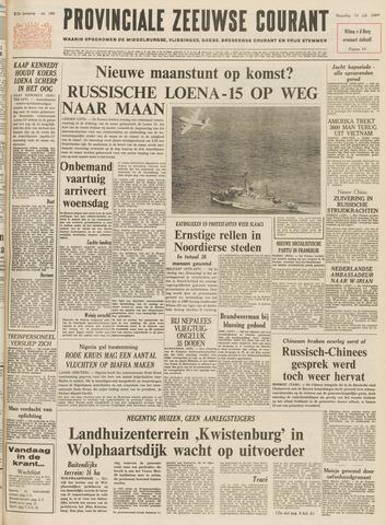 Provinciale Zeeuwse Courant 1969-07-14
