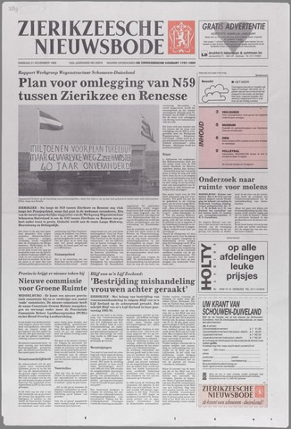 Zierikzeesche Nieuwsbode 1995-11-21