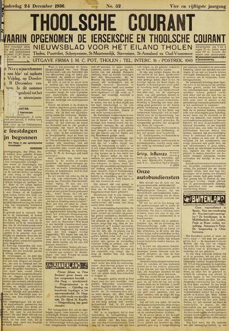 Ierseksche en Thoolsche Courant 1936-12-24