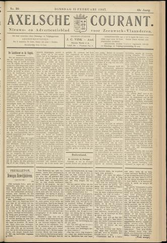 Axelsche Courant 1927-02-15