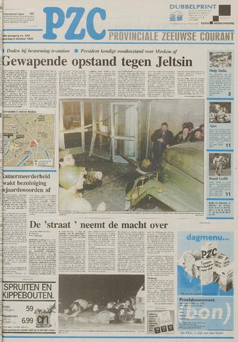 Provinciale Zeeuwse Courant 1993-10-04