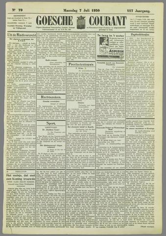 Goessche Courant 1930-07-07