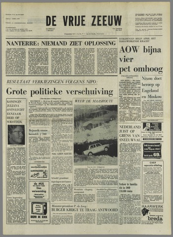 de Vrije Zeeuw 1970-03-07