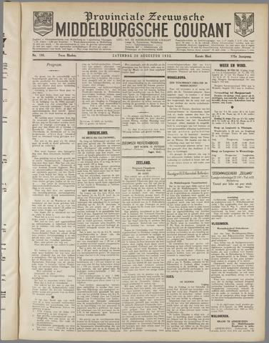 Middelburgsche Courant 1932-08-20