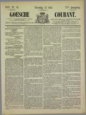 Goessche Courant 1887-07-12