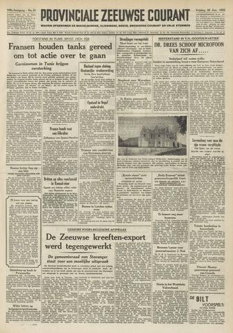 Provinciale Zeeuwse Courant 1952-01-25