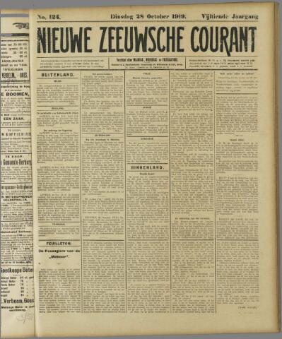 Nieuwe Zeeuwsche Courant 1919-10-28