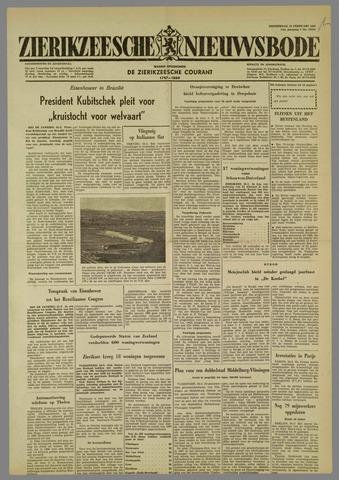 Zierikzeesche Nieuwsbode 1960-02-25