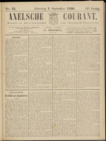 Axelsche Courant 1900-09-01