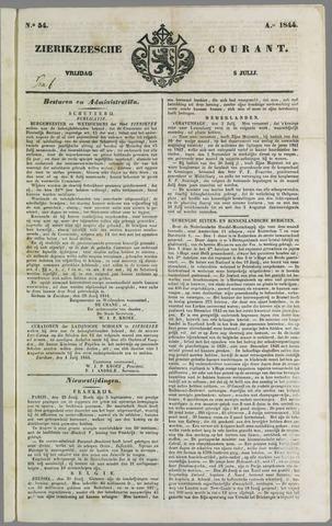 Zierikzeesche Courant 1844-07-05