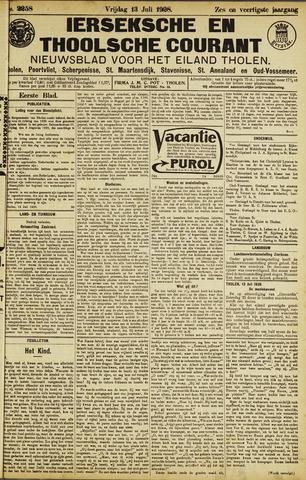 Ierseksche en Thoolsche Courant 1928-07-13