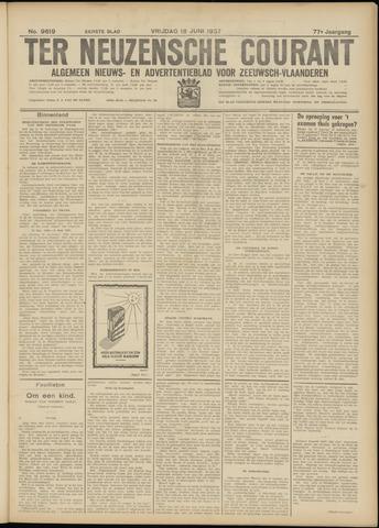Ter Neuzensche Courant. Algemeen Nieuws- en Advertentieblad voor Zeeuwsch-Vlaanderen / Neuzensche Courant ... (idem) / (Algemeen) nieuws en advertentieblad voor Zeeuwsch-Vlaanderen 1937-06-18