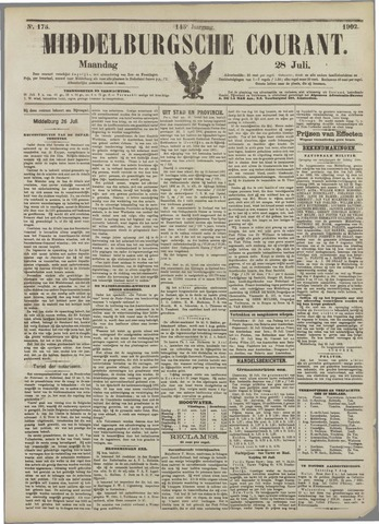 Middelburgsche Courant 1902-07-28