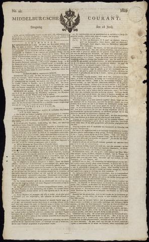 Middelburgsche Courant 1814-06-28
