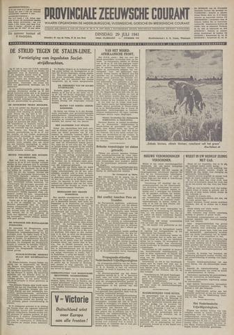Provinciale Zeeuwse Courant 1941-07-29