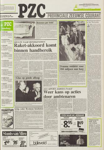 Provinciale Zeeuwse Courant 1987-04-16