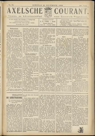 Axelsche Courant 1938-12-20