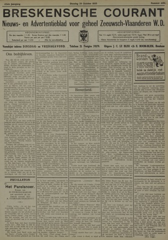 Breskensche Courant 1935-10-29