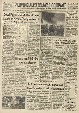 Provinciale Zeeuwse Courant 1956-09-27