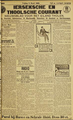 Ierseksche en Thoolsche Courant 1928-03-02