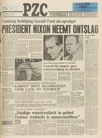 Provinciale Zeeuwse Courant 1974-08-09