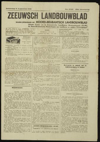 Zeeuwsch landbouwblad ... ZLM land- en tuinbouwblad 1941-08-09