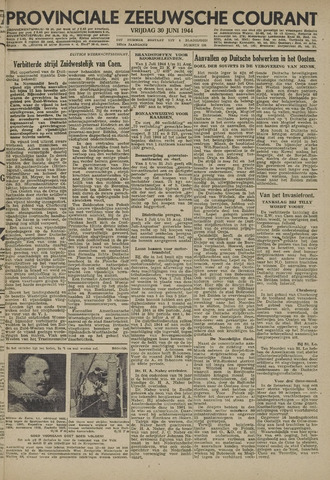 Provinciale Zeeuwse Courant 1944-06-30