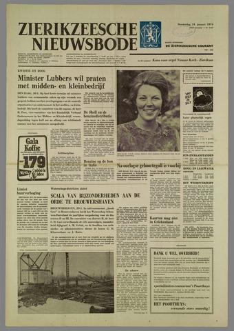 Zierikzeesche Nieuwsbode 1974-01-31