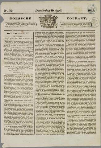 Goessche Courant 1849-04-19