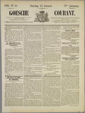 Goessche Courant 1883-01-23