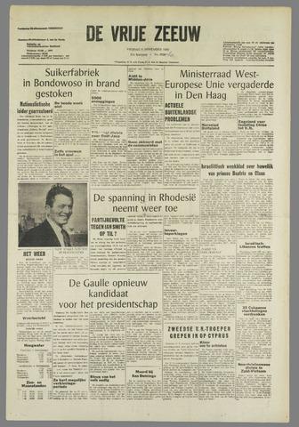 de Vrije Zeeuw 1965-11-05
