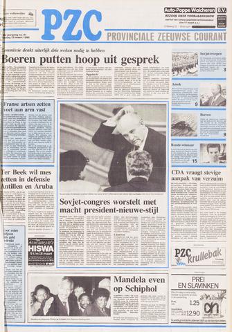Provinciale Zeeuwse Courant 1990-03-13