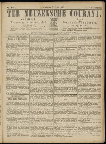 Ter Neuzensche Courant. Algemeen Nieuws- en Advertentieblad voor Zeeuwsch-Vlaanderen / Neuzensche Courant ... (idem) / (Algemeen) nieuws en advertentieblad voor Zeeuwsch-Vlaanderen 1902-05-31