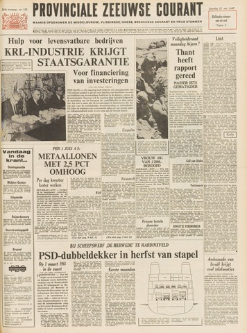 Provinciale Zeeuwse Courant 1967-05-27